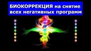 Биокоррекция на снятие всех негативных программ - Медитация https://youtu.be/qYyjFBOPsPUСайт Академии Целителей - http://treks.pw/l/1513Подписка на рассылку Академии Целителей - http://treks.pw/l/1516