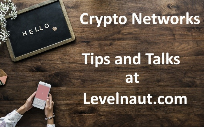 Crypto Networks. Secrets and TalksIf you are in this crypto social network, then - no problem. Here you can find answers to any questions, and read any information. In a pinch, you can write a new post, use the search, or contact other users by personal message or with the help of a comment.Read more https://levelnaut.com/2018/10/24/crypto-networks-secrets-and-talks/