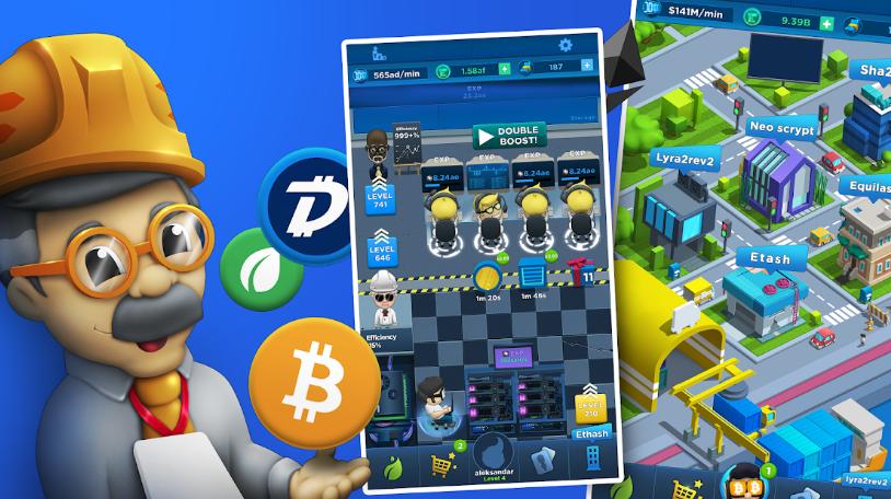 Эта игра открывает большие перспективы в мире, уже давно охваченном криптолихорадкой !!!Присоединяйся и заработай свои первые Hora Tokens прямо сейчас !!!https://idleminer.onelink.me/Irub/89859377Отличная игра, вот бы таких несколько))) с разным направлением игр (rpg+puzzle например)!!!#Crypto