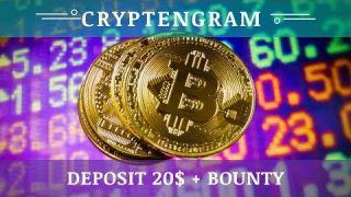 CRYPTENGRAM LLC (cryptengram.com) отзывы 2019, обзор, mmgp, Deposit 20$ + BOUNTY