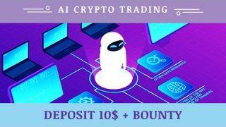 Ai Crypto Trading (aicryptotrading.biz) отзывы 2019, обзор, mmgp, Deposit 10$ + BOUNTY