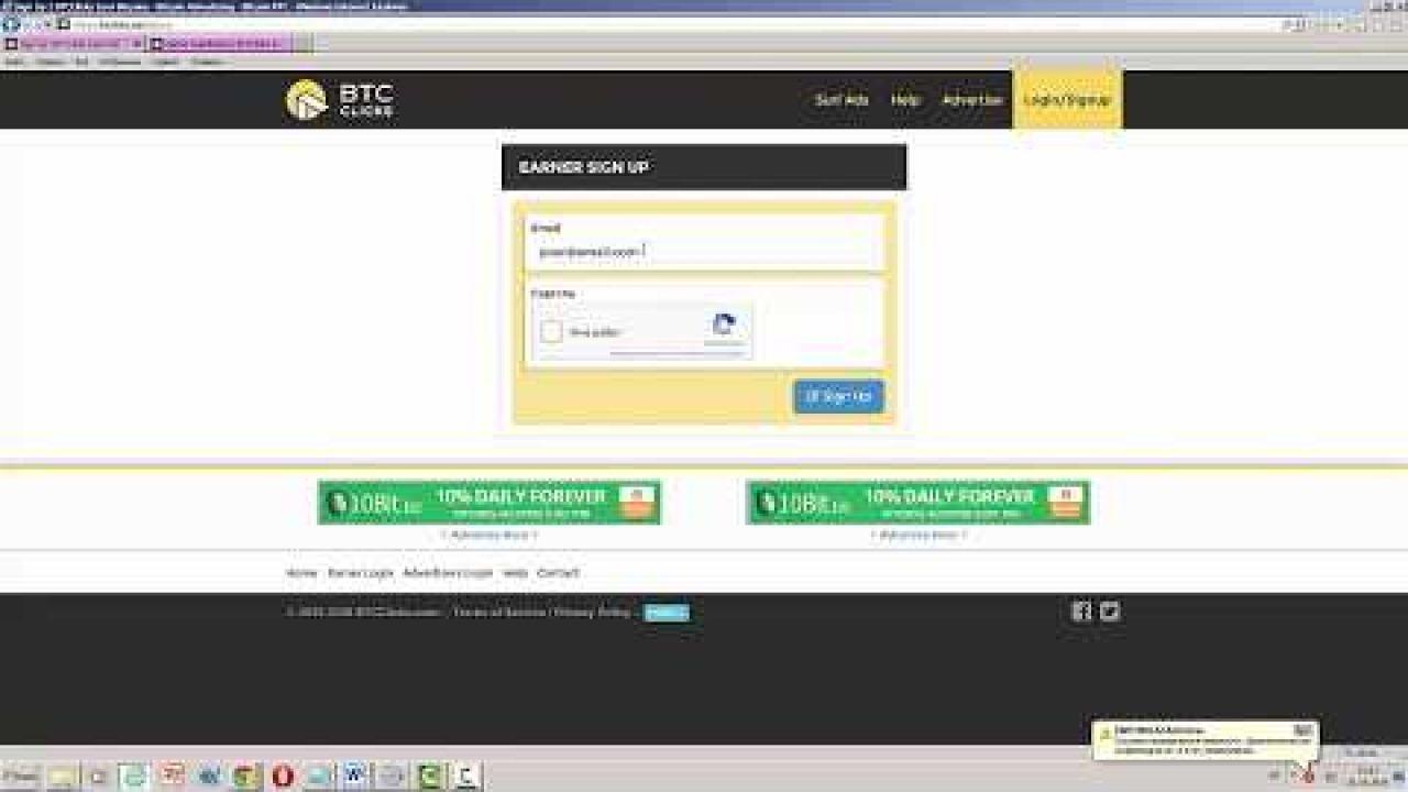 BTCclicks букс с заработком криптовалюты bitcoin Обзор