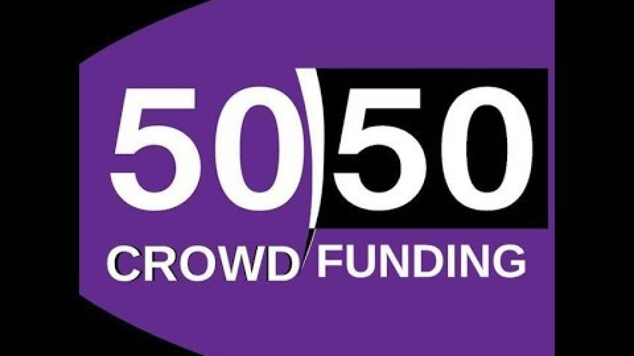 50/50 CROWDFUNDING