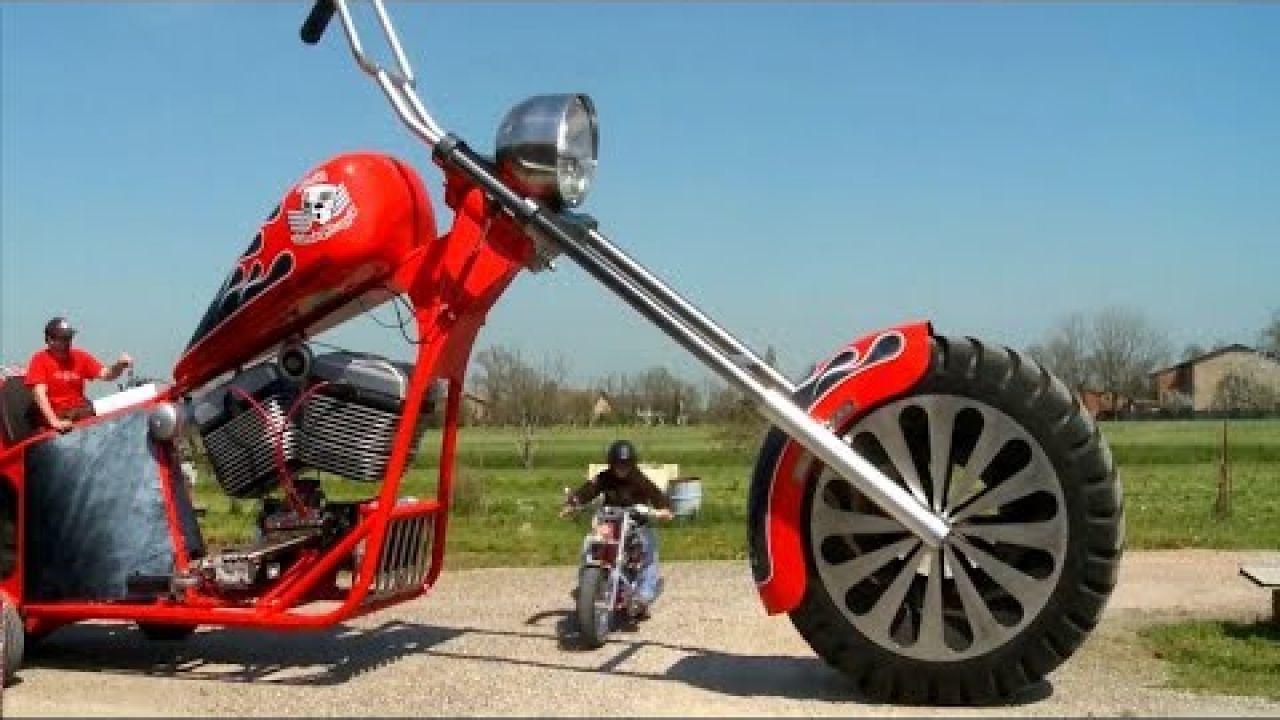 Мотоцикл Гигант и другие самые безумные рекорды Гиннесса!